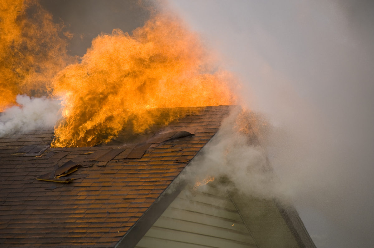 How to Prevent Roof Fires: Fire Prevention Week is October 7-13